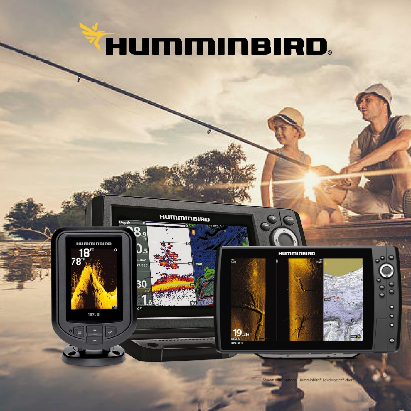 Humminbird Fish Finder Brands