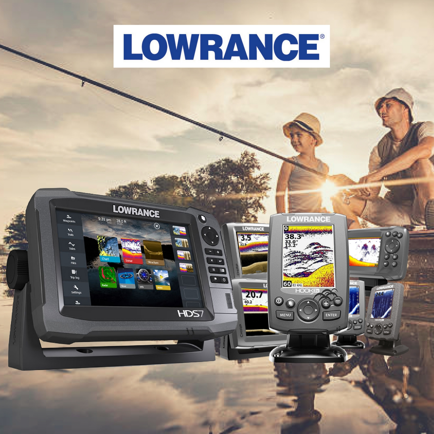 Lowrance Fish Finder Brands