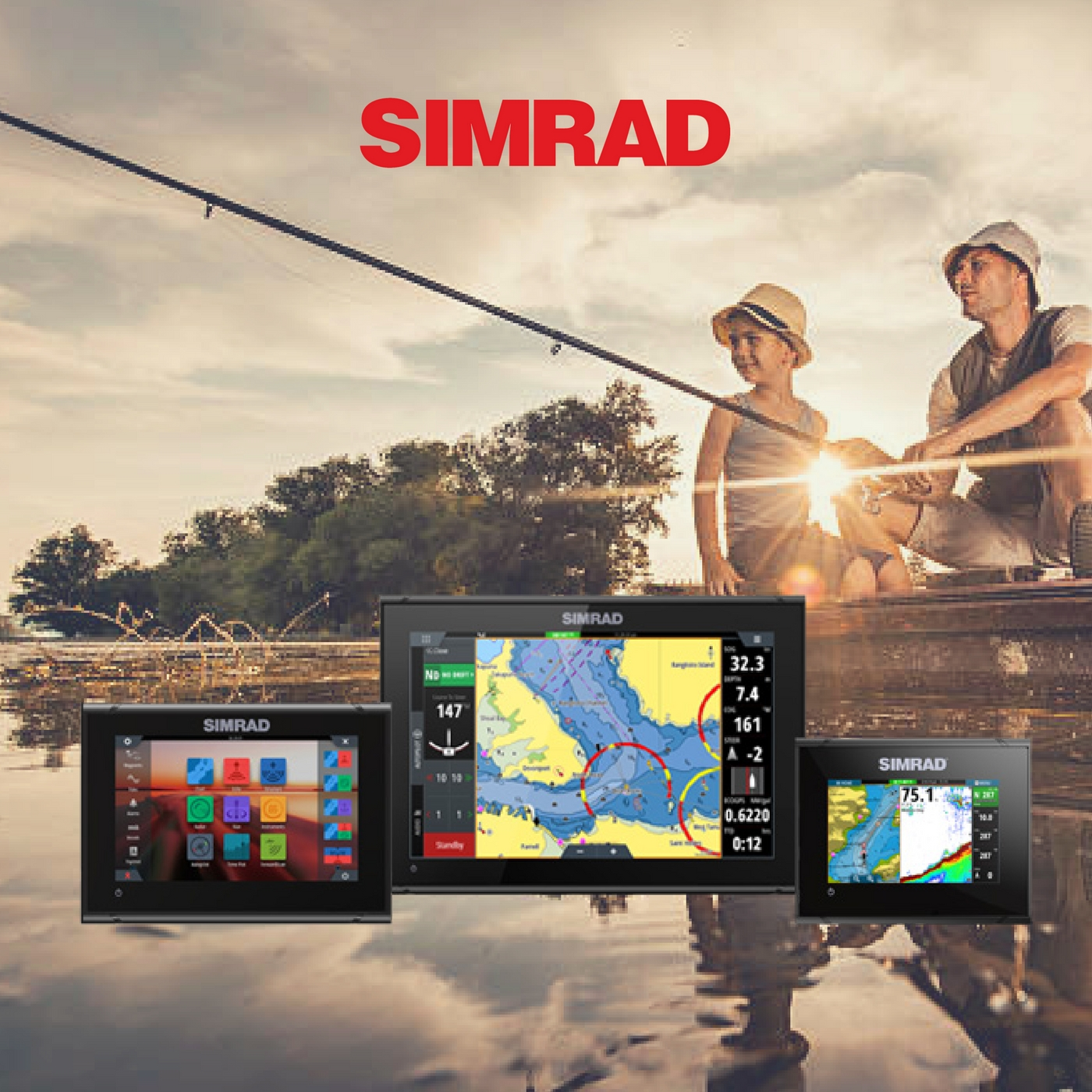Simrad Fish Finder Brands