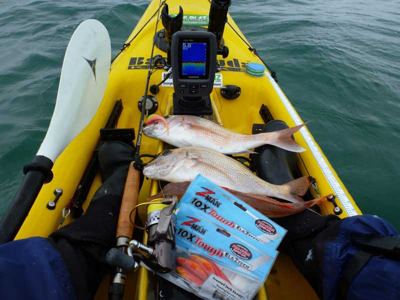 Mounting-Fish-Finder-for-kayak-fishing