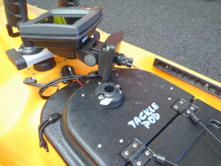 Mounting Fish Finder on Kayak