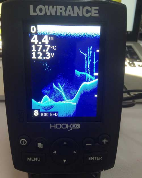 Lowrance HOOK-3x DSI Fish Finder Review